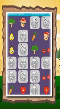 Matching Games Vegetables screenshot 1