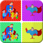 Matching Heroes Games icon