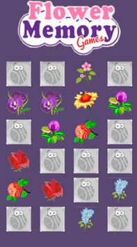 Flower memory games screenshot 1