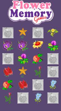 Flower memory games screenshot 2