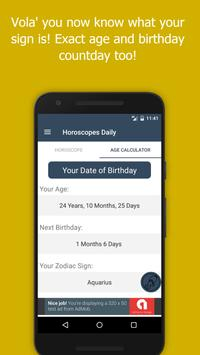 Free Daily Horoscopes apk screenshot