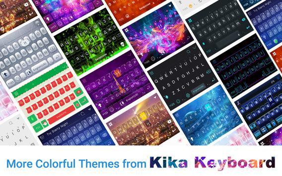 Blue Sky Emoji Kika Keyboard screenshot 6