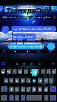 Transparent Keyboard Theme poster