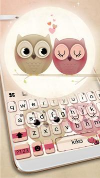Valentine Owls poster