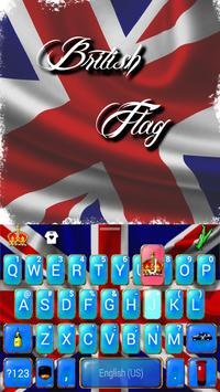 British Flag Kika Keyboard screenshot 1