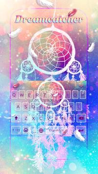 Dreamcatcher Lovely Keyboard Theme poster