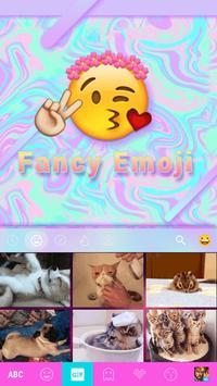 Fancy Emoji Keyboard Theme apk screenshot