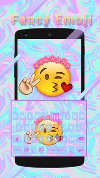 Fancy Emoji Keyboard Theme poster