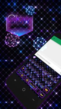 Glow Theme for Kika Keyboard poster
