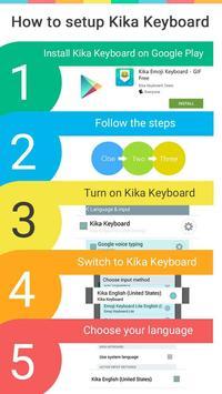 Glow Theme for Kika Keyboard apk screenshot