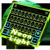 Neon Light Emoji Kika Keyboard icon