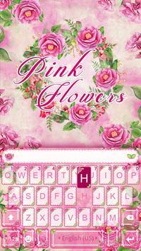 Pink flower emoji kikakeyboard apk download free personalization pink flower emoji kikakeyboard poster mightylinksfo Images