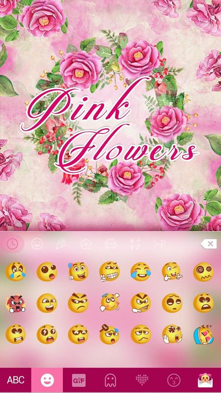 Pink flower emoji kikakeyboard apk download free personalization pink flower emoji kikakeyboard poster pink flower emoji kikakeyboard apk screenshot mightylinksfo