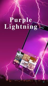 PurpleLightning Kika Keyboard screenshot 2