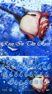 Rose in the Rain Kika Theme poster