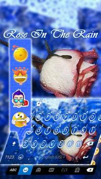 Rose in the Rain Kika Theme screenshot 3