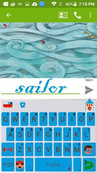 Sailor Kika Free Emoji Theme poster