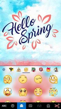 Spring Time for Kika Keyboard apk screenshot