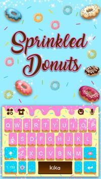 Sprinkled Donuts Kika Keyboard screenshot 1