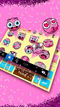 Sprinkled Donuts Kika Keyboard screenshot 3