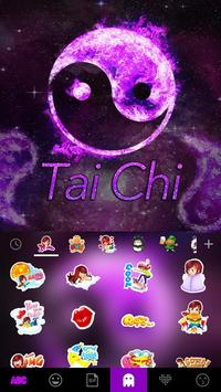 Tai Chi Emoji Kika Keyboard apk screenshot