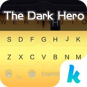 The Dark Hero Kika Keyboard icon