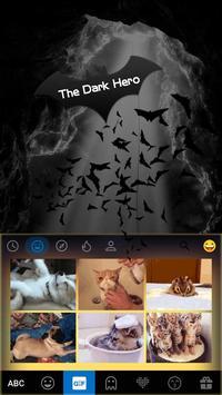 The Dark Hero Kika Keyboard apk screenshot