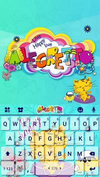 Alegretto Bichitta Keyboard Theme poster