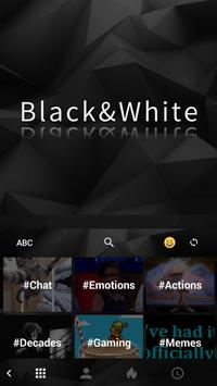 Classic Black Keyboard apk screenshot