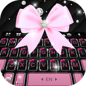 Black Pink Kitty icon