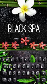 Black Spa Keyboard Theme poster