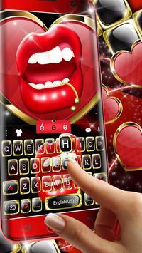 Black Golden Red Lip screenshot 1