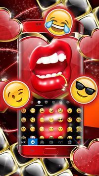Black Golden Red Lip screenshot 2