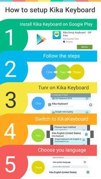 Twinkle Kika keyboard theme apk screenshot