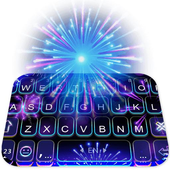 2018 Lucky New Year Firework Keyboard icon