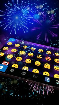 2018 Lucky New Year Firework Keyboard screenshot 1
