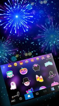 2018 Lucky New Year Firework Keyboard screenshot 3