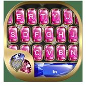 Colorful Gemstone Keyboard Theme icon