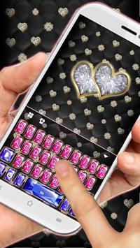 Colorful Gemstone Keyboard Theme apk screenshot