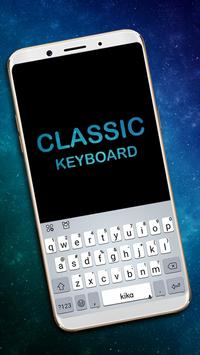 Classic Keyboard - Type Fast,fonts,Emoji, Emoticon poster