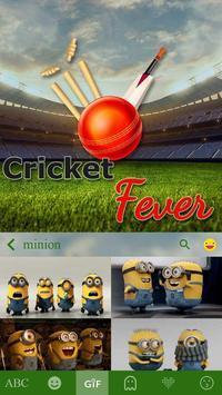 Cricket Fever Keyboard Theme screenshot 1