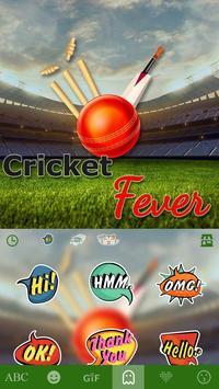 Cricket Fever Keyboard Theme screenshot 2