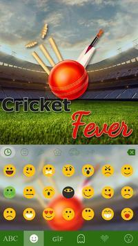 Cricket Fever Keyboard Theme apk screenshot