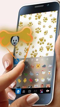 Cuteness Puppy Keyboard Theme screenshot 1