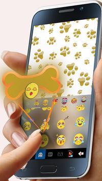 Cuteness Puppy Keyboard Theme screenshot 2