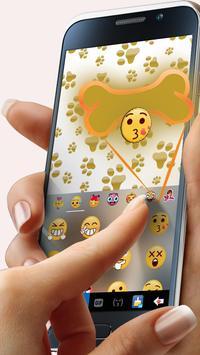 Cuteness Puppy Keyboard Theme screenshot 3