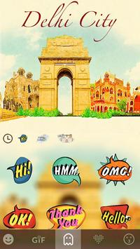 Delhi City Keyboard Theme apk screenshot