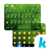 Green Nature Panda Keyboard Theme icon