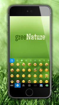 Green Nature Panda Keyboard Theme screenshot 2