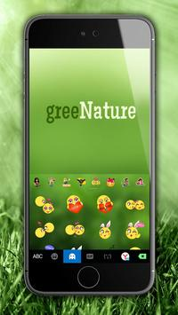 Green Nature Panda Keyboard Theme screenshot 3